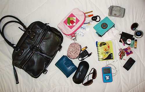 Bolsa De Mão Para O Dia A Dia : O que tem na minha bolsa ana car?ana car?
