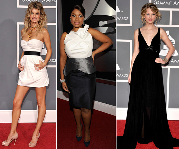 As bonitas do Grammy 2009
