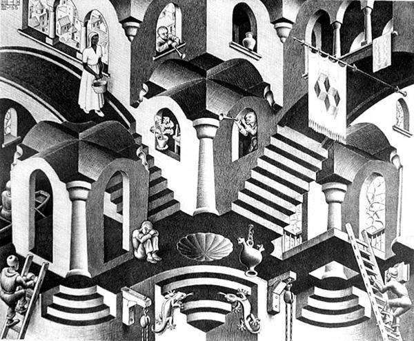 A loucura de Escher
