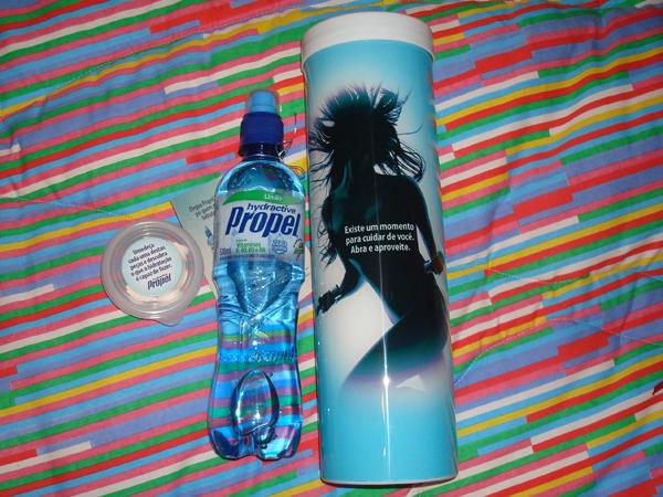 Gatorade: água com sabor (lançamento) e toalhinhas compactas