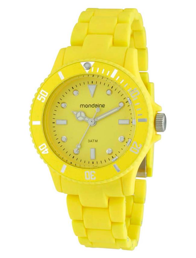 A não compra de hoje: relógio colorido