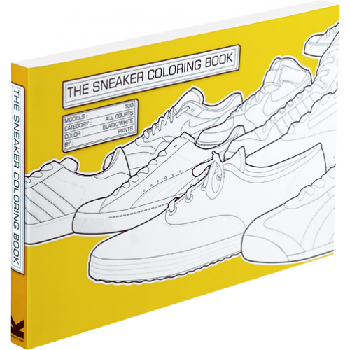 A não compra de hoje: The Sneaker Colouring Book