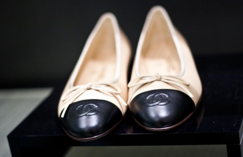 Se eu fosse rica: sapatilha Chanel