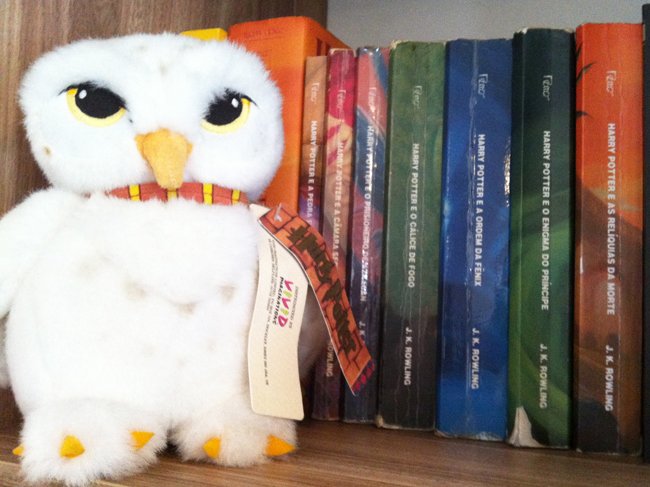 Andei lendo: série Harry Potter | J.K. Rowling