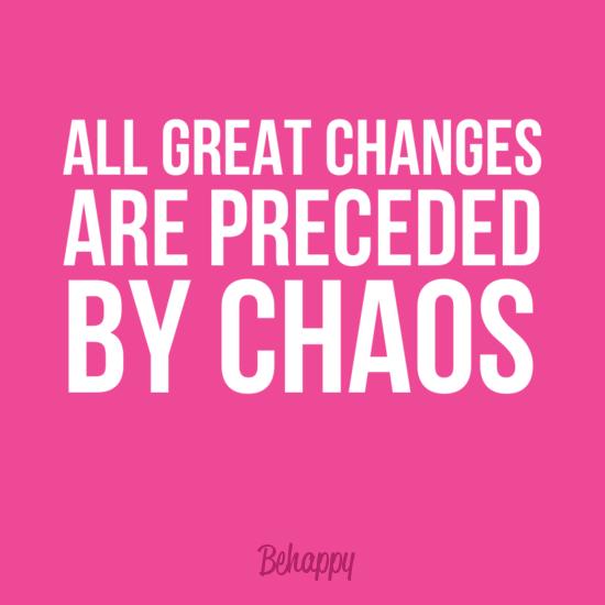Sobre a vida, os sumiços e as mudanças
