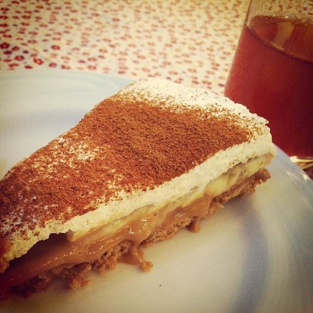 Torta de banana da Casinha: vale a ida!
