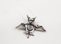 Origami de prata