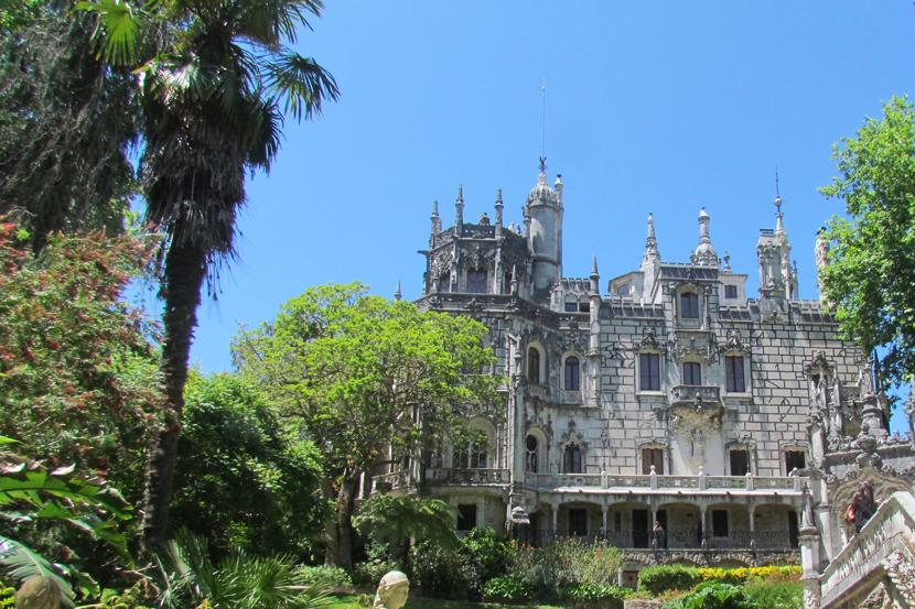 O Palácio da Regaleira.