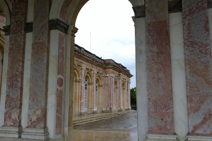 O Grand Trianon.