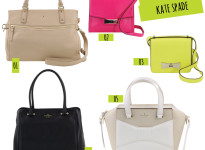 Cinco minutos, cinco querências: Kate Spade na Acquarelashop