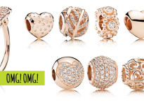 Nova coleção Pandora Rosé