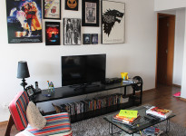 Minha casinha: a sala