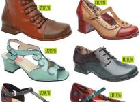 Querência: sapatos retrô