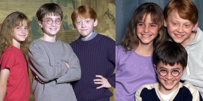 Emma, Dan e Ruppinho: melhores escolhas. <3