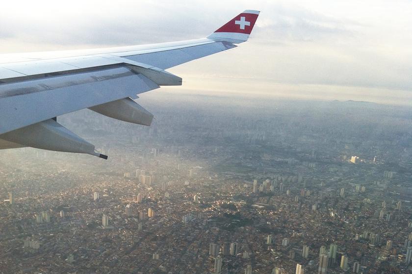 Embarquei em Zurique e desci em São Paulo, ô sensação boa!