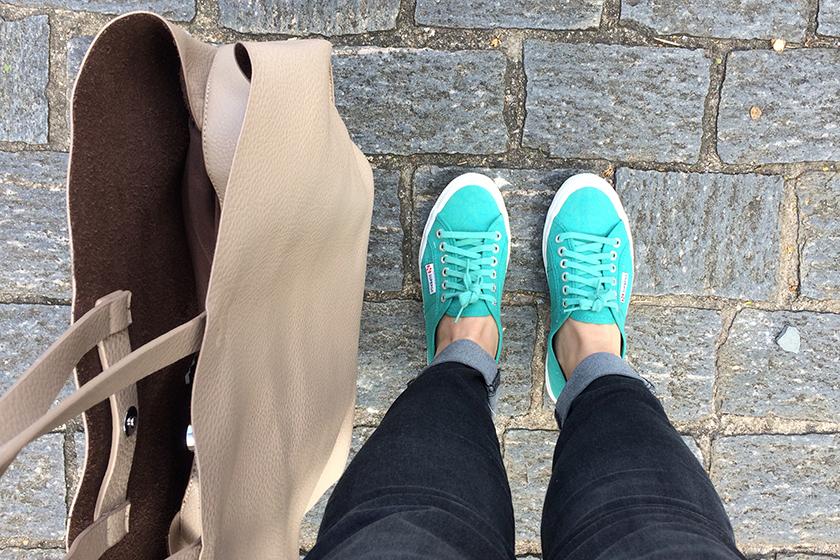 Um dos últimos sapatos novos por aqui, nunca resisto a tirar foto deles. X)
