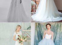 E o vestido de noiva?