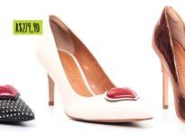 Sapatos pra noiva com coração